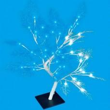 Сакура световая [50 см] Uniel Морозко ULD-T3550-054/SWA WHITE-BLUE IP20 FROST